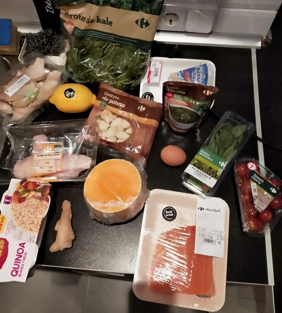 """Compra en el supermercado menú """"Cocina en 2 horas para toda la semana"""""""